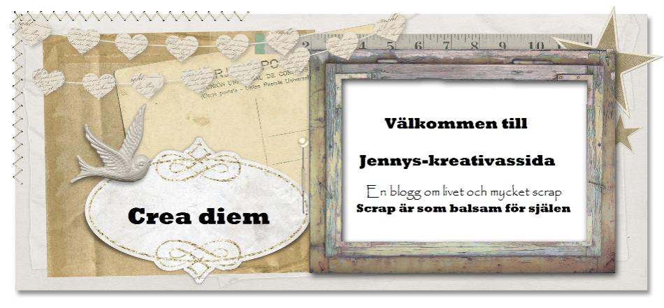 Jennys-kreativasida! Scrap är som balsam för själen